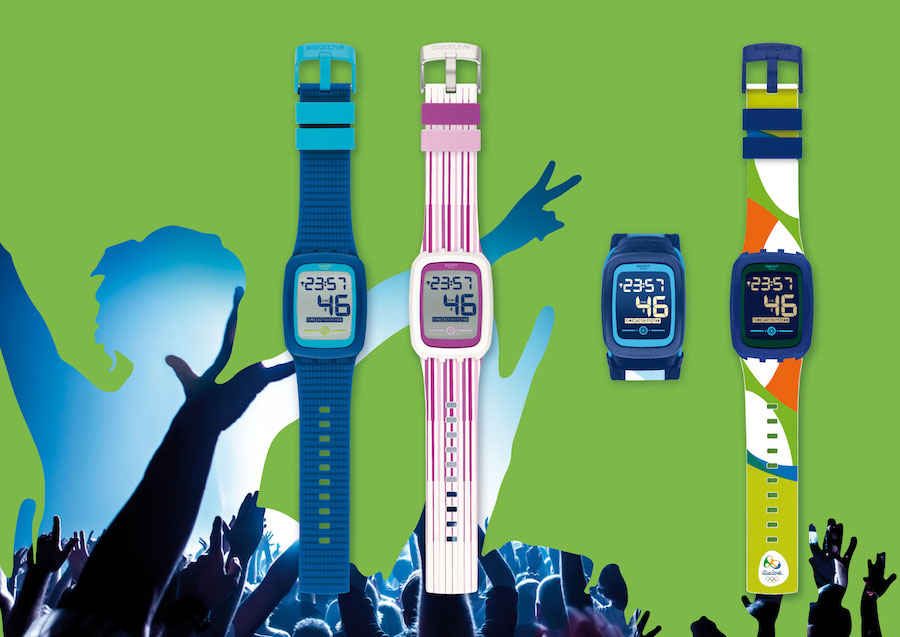 Swatch Touch Zero Two Models